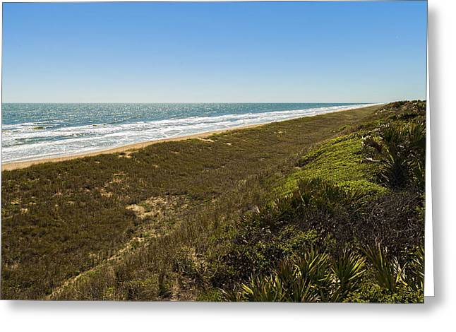 Ponte Vedra Beach Greeting Card by Raul Rodriguez