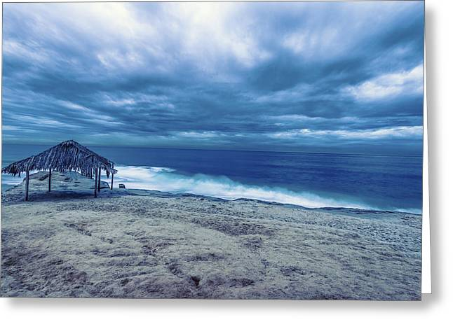 California Ocean Photography Greeting Cards - Seascape Greeting Card by Joseph S Giacalone
