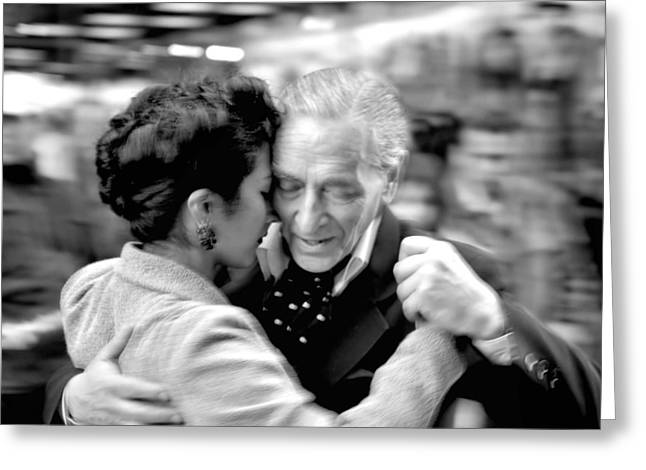 Buenos Aires Greeting Cards - The Last Tango Greeting Card by Kenneth Mucke