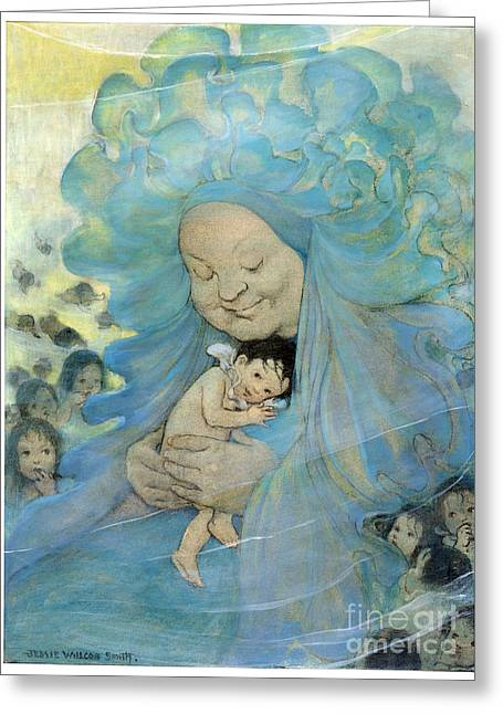 The Water Babies Greeting Card by Granger