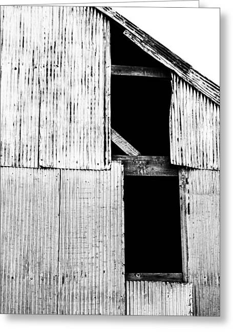 Old Barns Greeting Cards - Untitled Greeting Card by Angie Harris