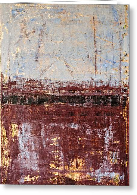 Rothko Greeting Cards - Untitled No. 2 Greeting Card by Julie Niemela