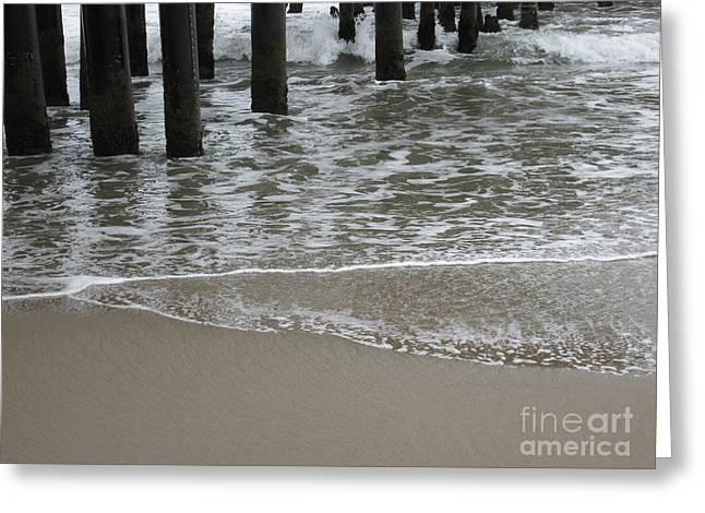 Ventura California Greeting Cards - Ventura Beach Pier Greeting Card by Cassandra Raine
