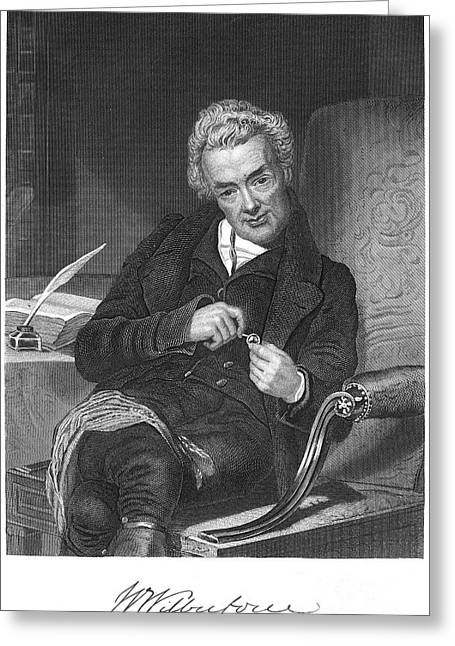 Best Sellers -  - Abolition Greeting Cards - William Wilberforce Greeting Card by Granger