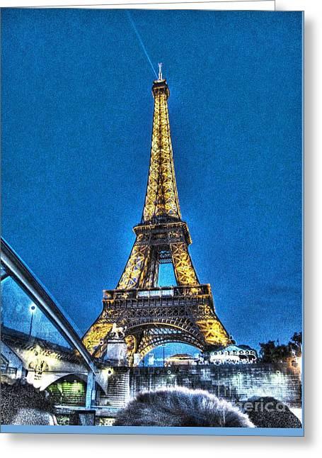 Yury Bashkin Paris Greeting Card by Yury Bashkin