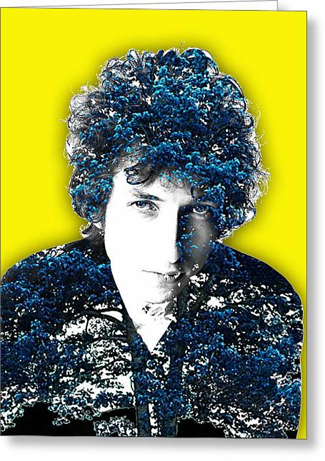 Dylan Greeting Cards - Bob Dylan Collection Greeting Card by Marvin Blaine