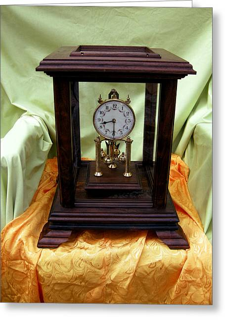 German Sculptures Greeting Cards - 400 day Anniversary clock 3 Greeting Card by Ivan Rijhoff
