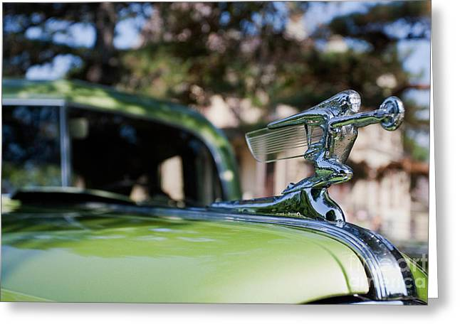 41 Packard Greeting Card by Alan Look