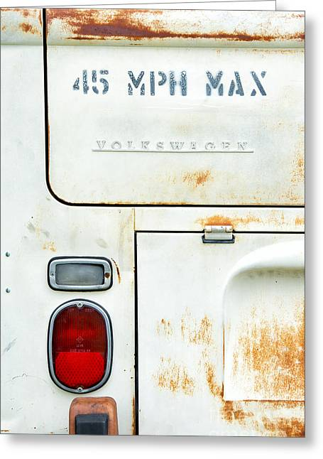 45 Mph Max Greeting Card by Tim Gainey