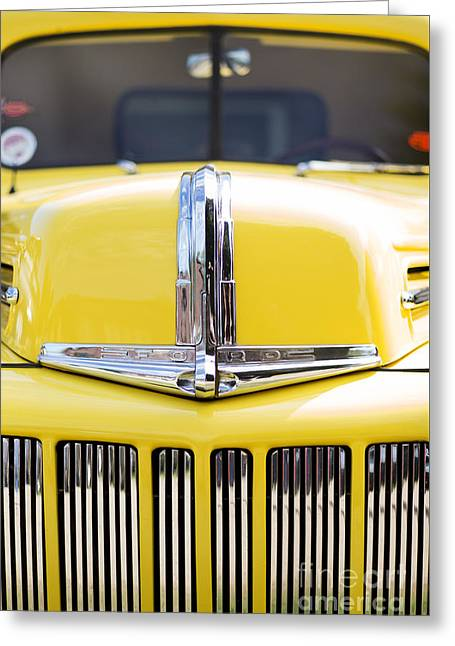 Pick Up Greeting Cards - 46 Pick Up in Yellow Greeting Card by Tim Gainey
