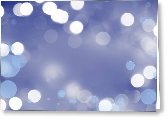 Blurred Background Greeting Cards - Abstract background Greeting Card by Les Cunliffe