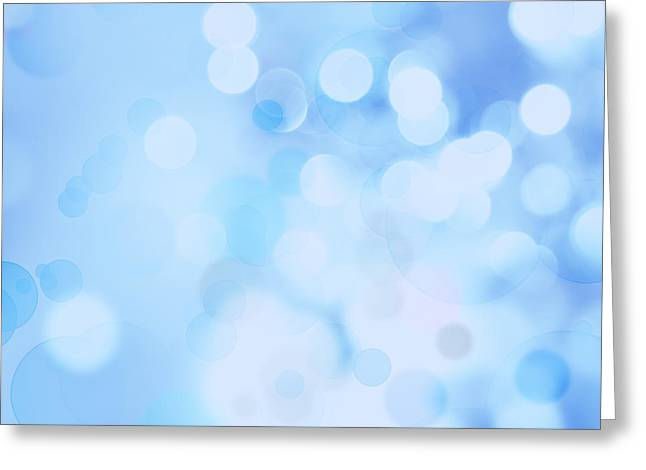 Color Focus Greeting Cards - Abstract background Greeting Card by Les Cunliffe