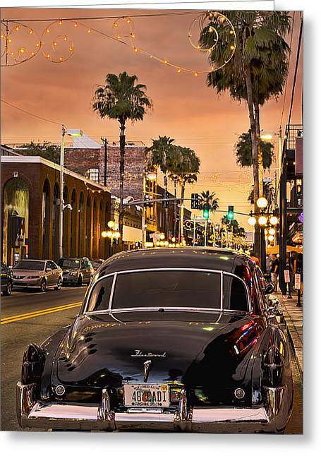 Ybor City Greeting Cards - 48 Cadi Greeting Card by Steven Sparks