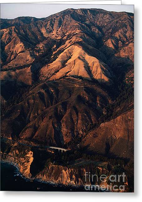 Californian Landscapes Greeting Card by Baron Wolman