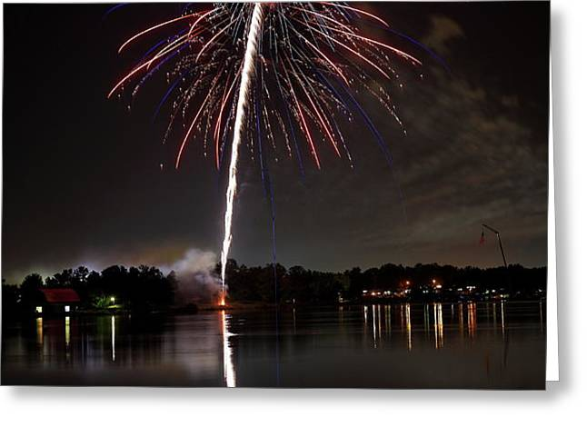 4th of July Greeting Card by Lone  Dakota Photography