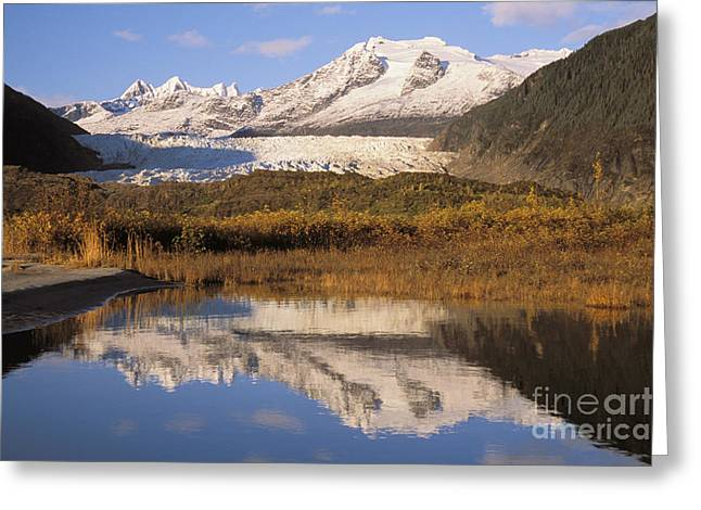 Juneau Park Greeting Cards - Alaska, Juneau Greeting Card by John Hyde - Printscapes