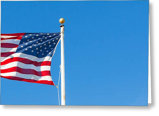 4th July Photographs Greeting Cards - American flag Greeting Card by Mariusz Blach