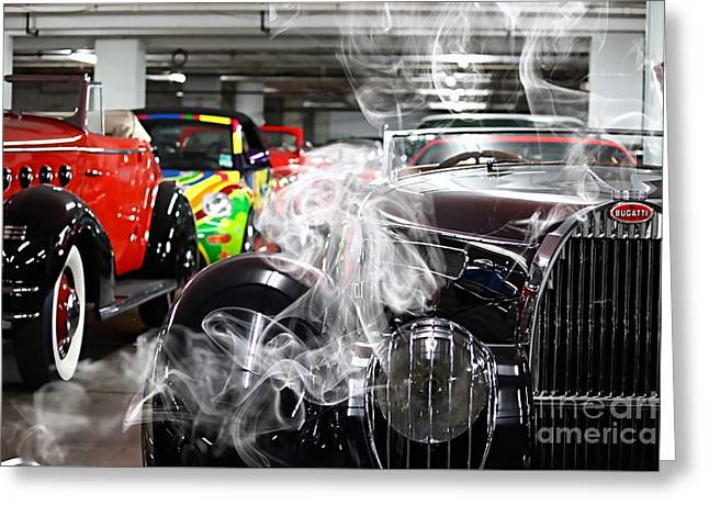 Bugatti Collection Greeting Card by Marvin Blaine