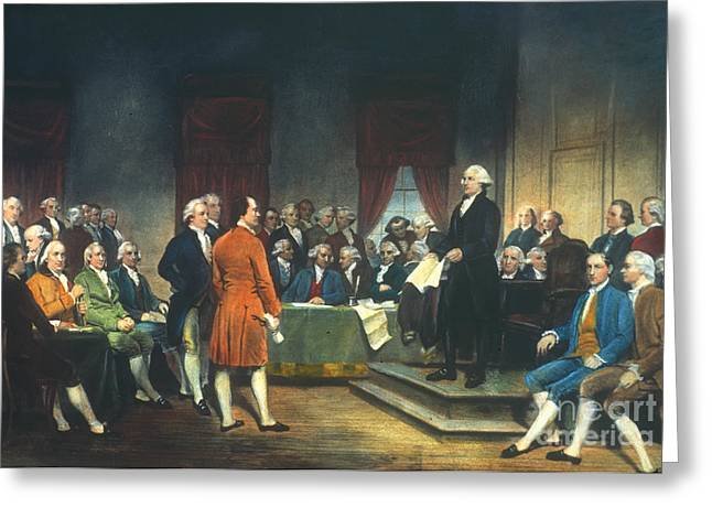 Convention Greeting Cards - Constitutional Convention Greeting Card by Granger