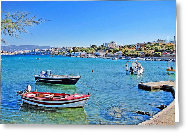 Civilization Greeting Cards - Crete. Legend. Greeting Card by Andy Za