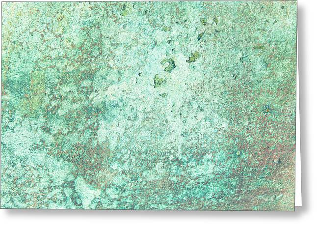 Moist Greeting Cards - Grungy background Greeting Card by Tom Gowanlock