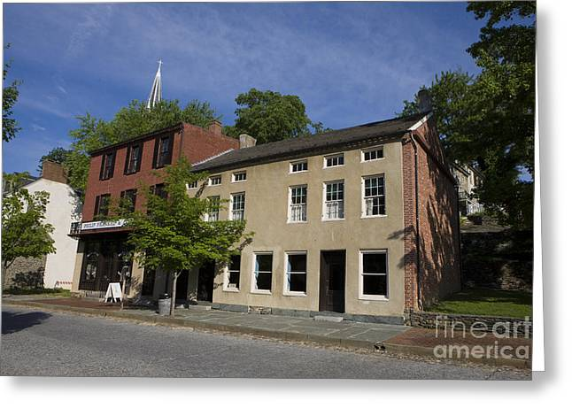 Store Fronts Greeting Cards - Harpers Ferry National Historical Park Greeting Card by Jason O Watson