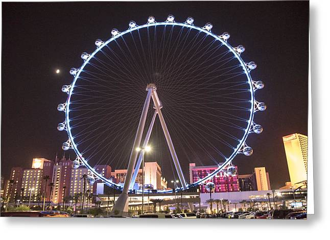 Ceasars Palace Greeting Cards - High Roller - Las Vegas Nevada Greeting Card by Jon Berghoff
