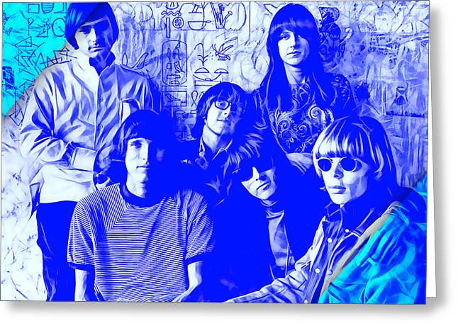 Jefferson Mixed Media Greeting Cards - Jefferson Airplane Collection Greeting Card by Marvin Blaine