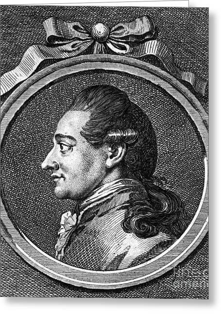 Johann Wolfgang Von Goethe, German Greeting Card by Science Source