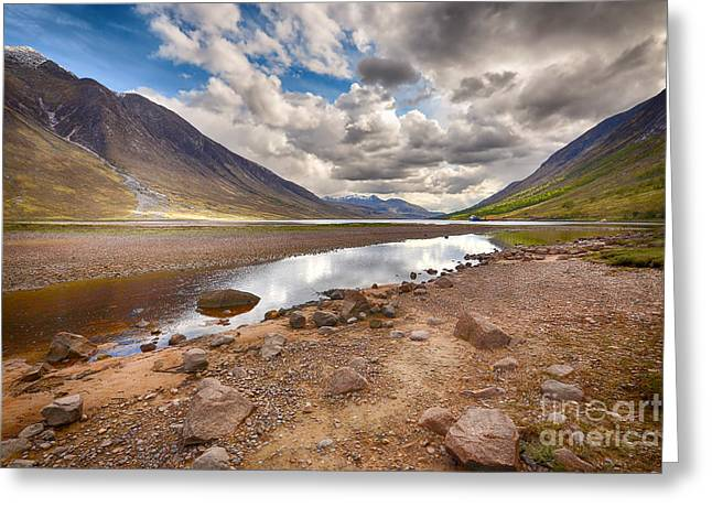 Loch Etive Greeting Card by Stephen Smith