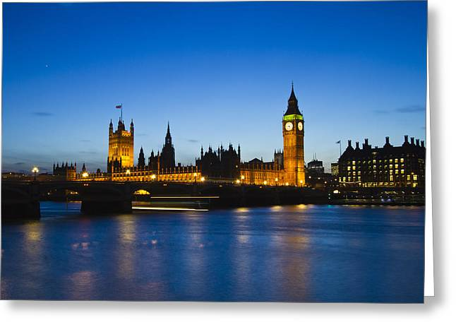 London  Skyline Big Ben Greeting Card by David French