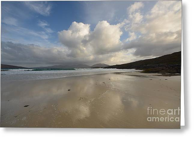 Luskentyre, Isle Of Harris Greeting Card by Stephen Smith
