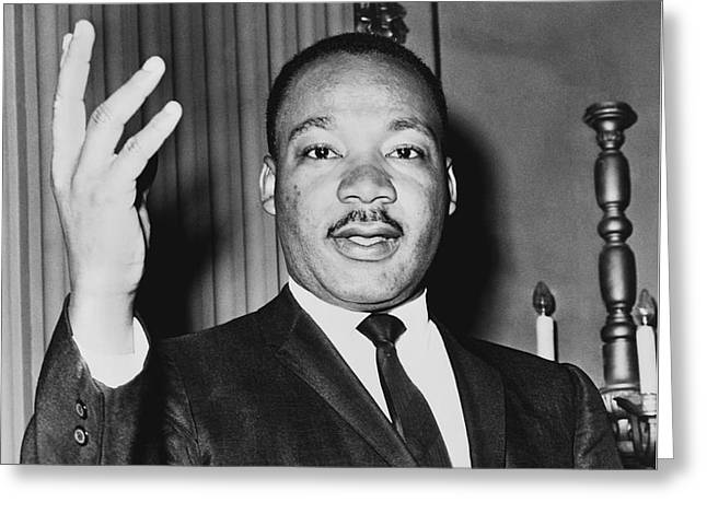 Martin Luther King Jr Greeting Card by American School