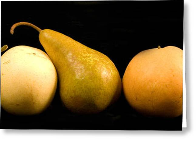 5 Pears Greeting Card by Cabral Stock