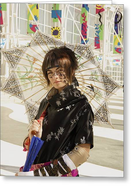 Cosplay Photographs Greeting Cards - People Greeting Card by Viktor Savchenko