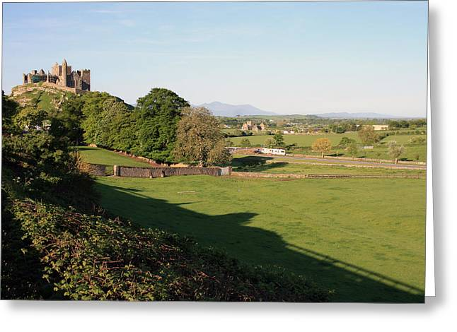 Cathedral Rock Greeting Cards - Rock of Cashel Greeting Card by John Quinn