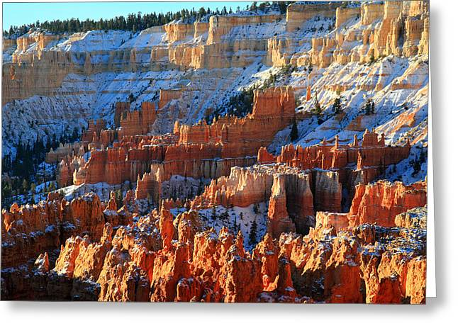 Thor Greeting Cards - Sunset point in Bryce Canyon Greeting Card by Pierre Leclerc Photography
