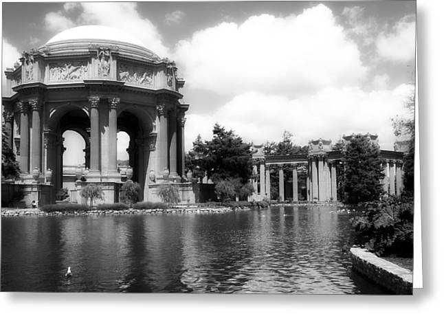 Lovely Pond Greeting Cards - The Beautiful Palace Of Fine Arts - San Francisco Greeting Card by Mountain Dreams