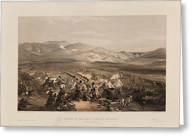 Brigade Greeting Cards - The Crimean War Greeting Card by Celestial Images
