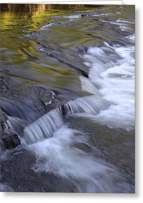 Usa Photographs Greeting Cards - Waterfall Greeting Card by Christian Heeb