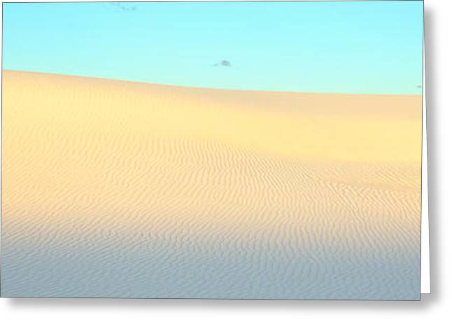 White Sands National Monument Greeting Cards - White Sands National Monument, New Greeting Card by Panoramic Images