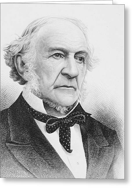 Gladstone Greeting Cards - William Ewart Gladstone 1809 To 1898 Greeting Card by Vintage Design Pics