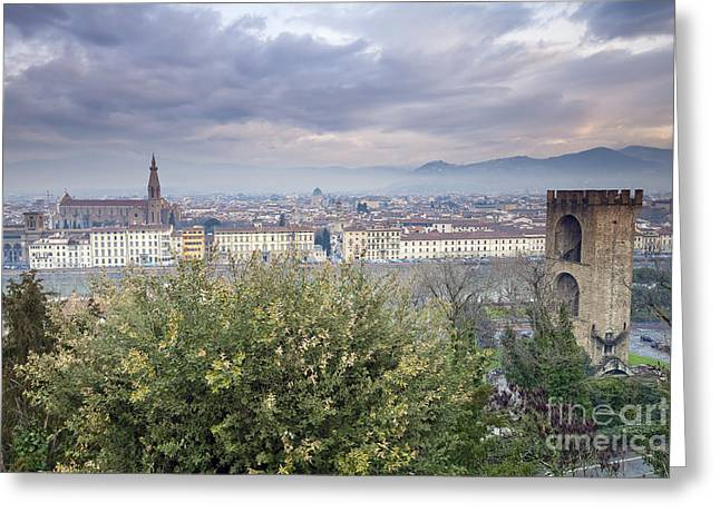 Michelangelo Greeting Cards - Florence Greeting Card by Andre Goncalves