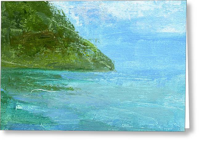 St Lucia Greeting Cards - RCNpaintings.com  Greeting Card by Chris N Rohrbach