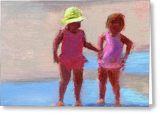Warm Summer Paintings Greeting Cards - RCNpaintings.com  Greeting Card by Chris N Rohrbach