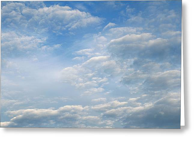Realistic Sky Greeting Cards - Clouds Greeting Card by Les Cunliffe