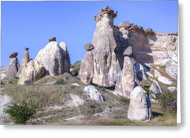 Kloster Greeting Cards - Cappadocia - Turkey Greeting Card by Joana Kruse