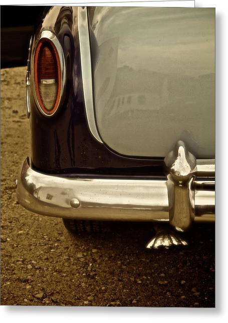 Chevrolet Trunk Greeting Cards - 54 Bel Air Greeting Card by Odd Jeppesen
