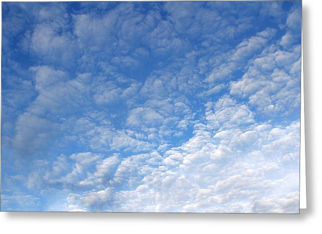 Air Greeting Cards - Clouds Greeting Card by Les Cunliffe