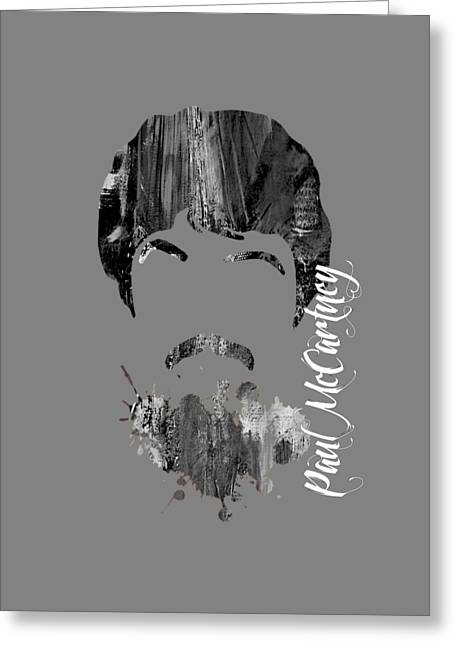 Paul Mccartney Greeting Cards - Paul McCartney Collection Greeting Card by Marvin Blaine